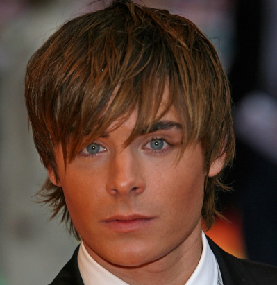 Zac Efron Hairstyle : Haircut With Fade also Kristen Schaal further Zac Efron Hairstyle ...