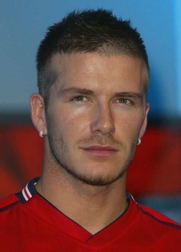 Admirable David Beckham Top 4 Hairstyles High Styley Hairstyle Inspiration Daily Dogsangcom