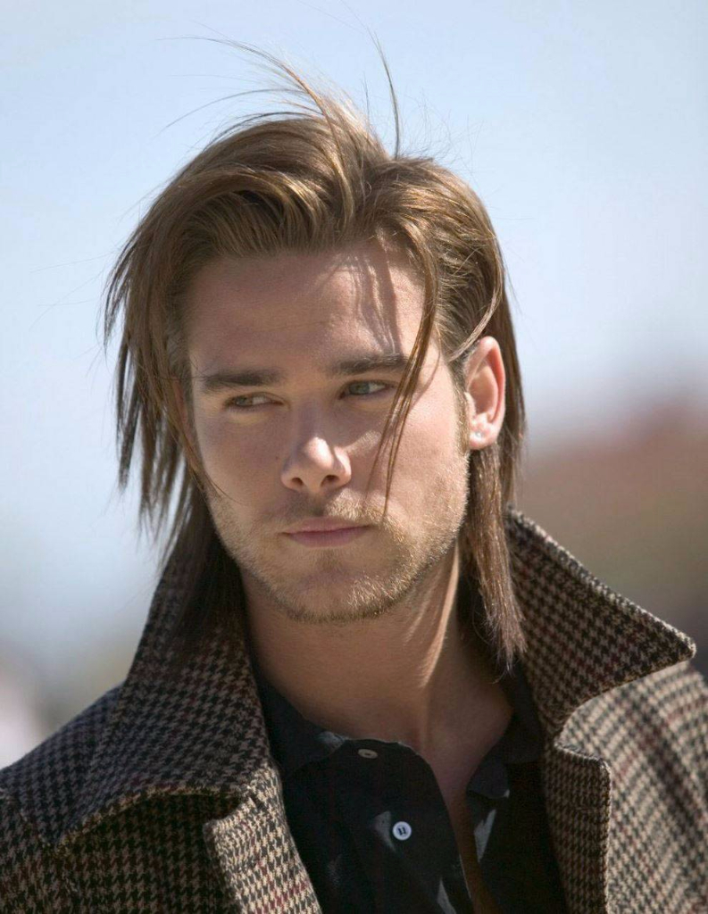 Men\u2019s Long Straight Hairstyle Inspiration  High Styley