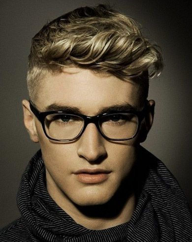 Men\'s Short Wavy Hairstyle Inspiration | High Styley