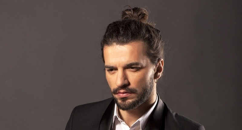 Hot people with man buns