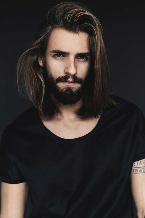 Men's Long Straight Hairstyles4