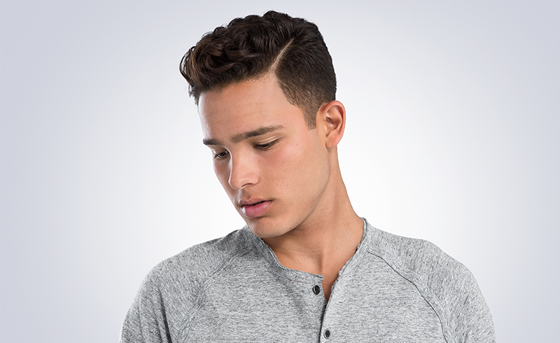 How To Style A Curly Pompadour High Styley